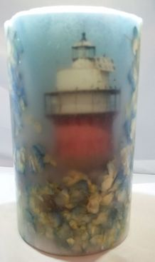 Light House Custom Made Candle
